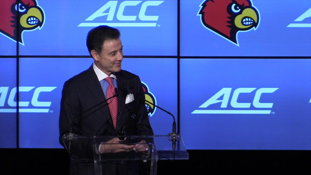 Pitino talks escort allegations at Cards Luncheon