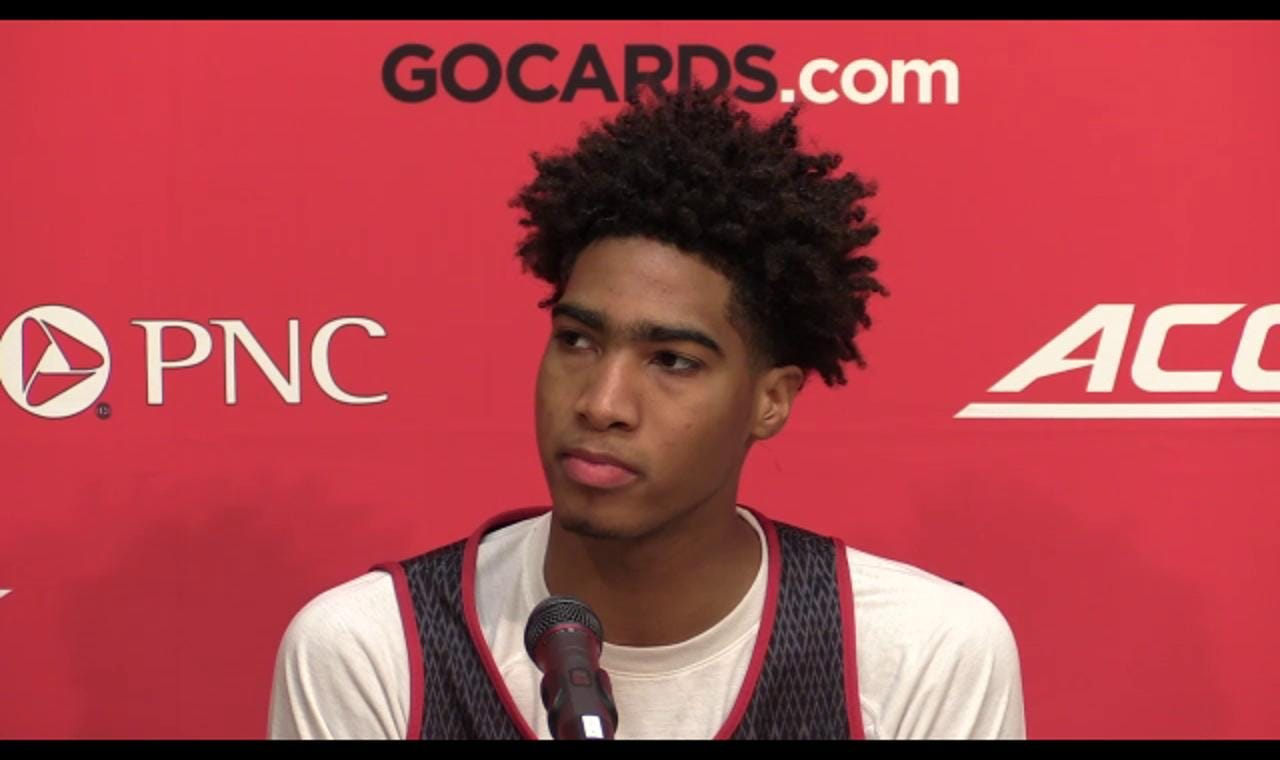 Video   U of L's Spalding talks about playing for Pitino