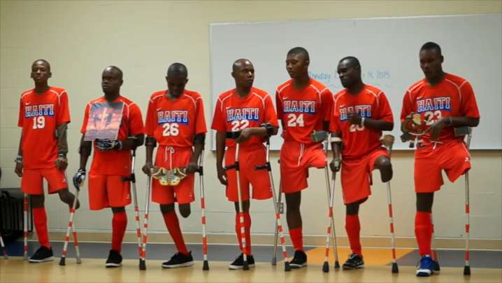 official photos 8062a 5f8ef Video | Haitian National Amputee Soccer Team inspires