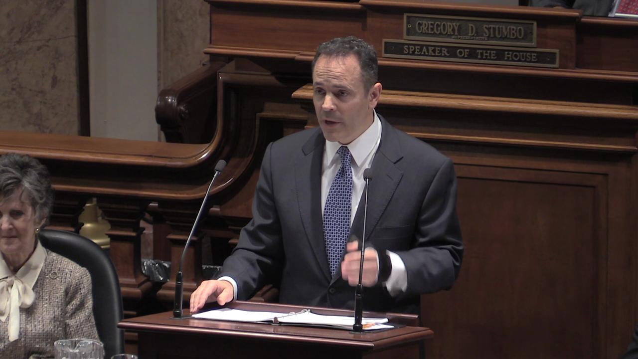 Video | Bevin on law enforcement funding