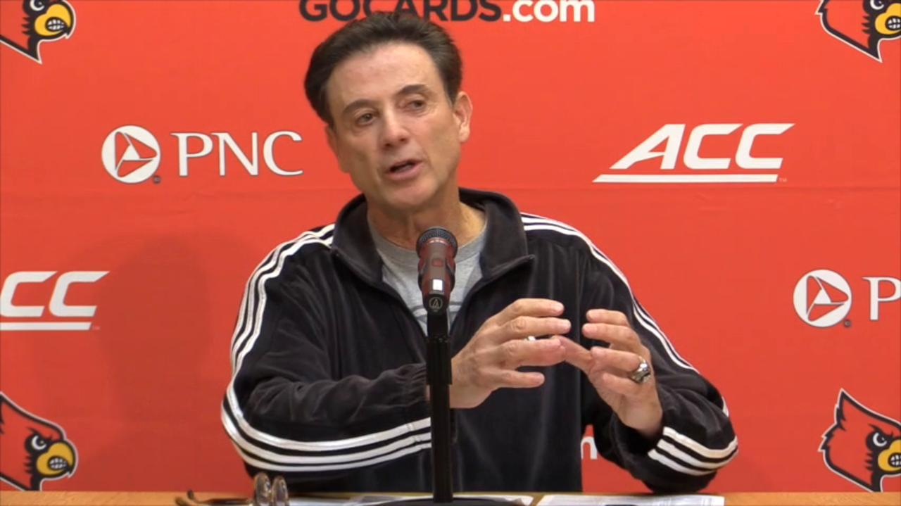 Video | Rick Pitino on Katina Powell, the finger