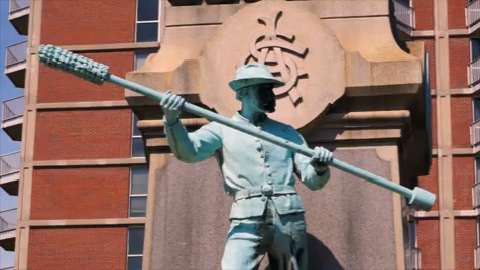 Confederate statue to be removed at U of L