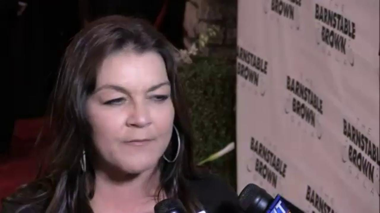 Gretchen Wilson On The 2016 Barnstable Brown Red Carpet