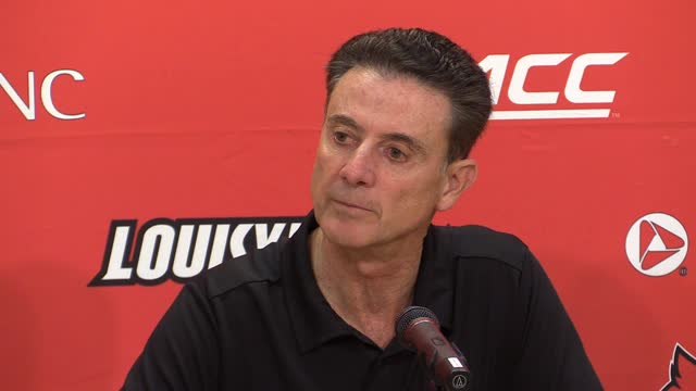 Louisville's Rick Pitino on putting last season 'behind'