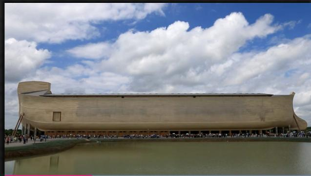 Ark Encounter opens to believers, protesters l Video