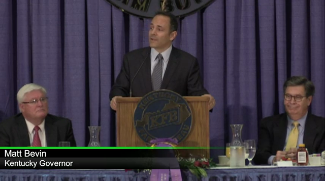 Watch Gov. Matt Bevin's remarks at 2016 Kentucky State Fair