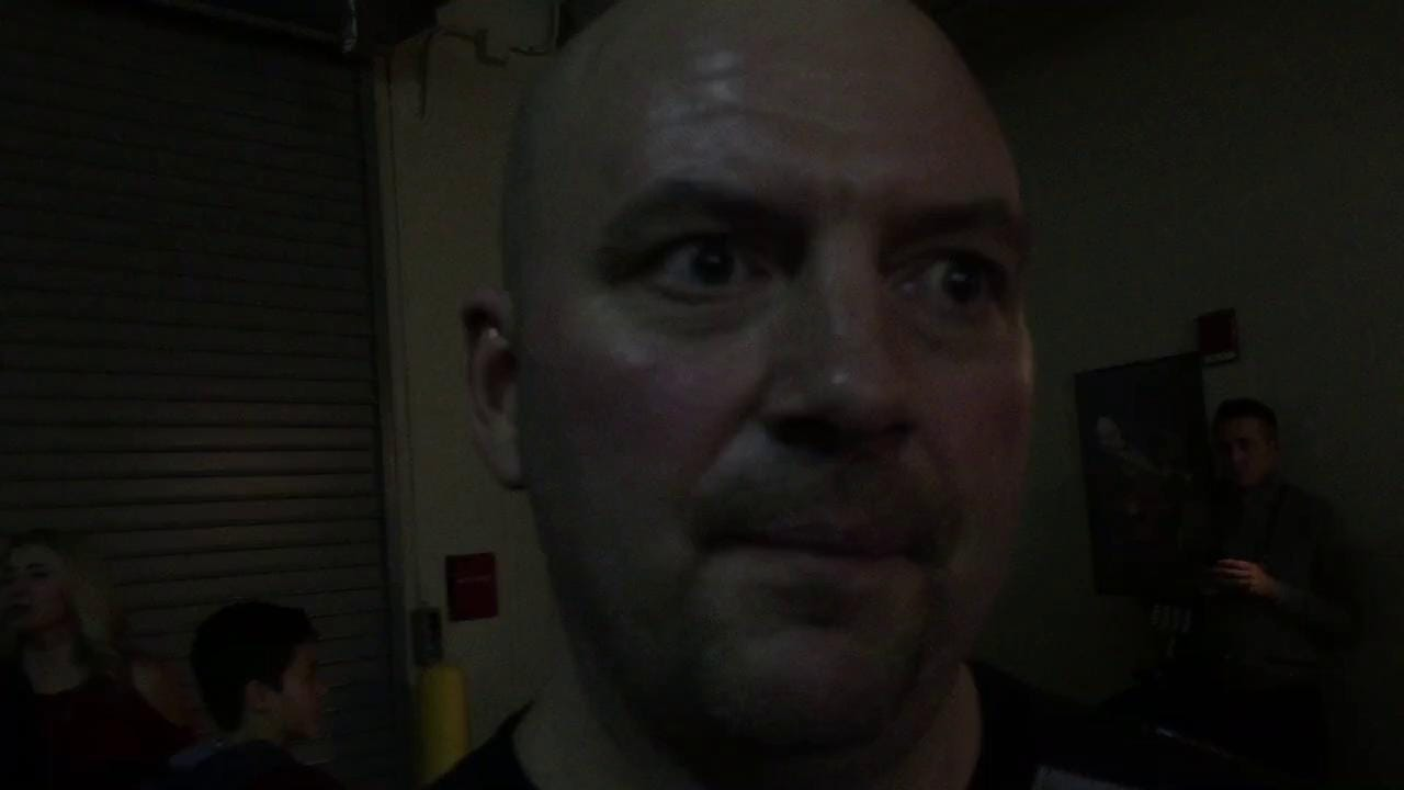 Video   Quentin Snider's dad after UK game