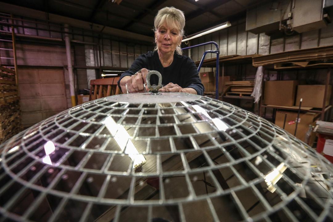 Yolanda Baker is the last disco ball maker in America