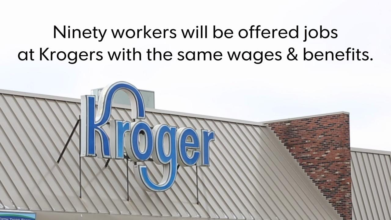 The Second Street Kroger is closing