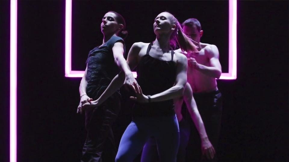 The Louisville Ballet presents the Human Abstract