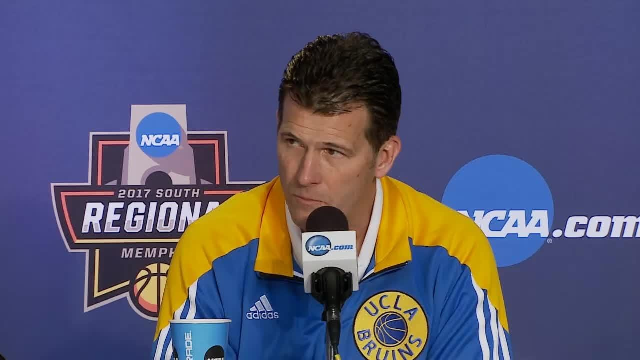 UCLA's Steve Alford talks about playing Kentucky