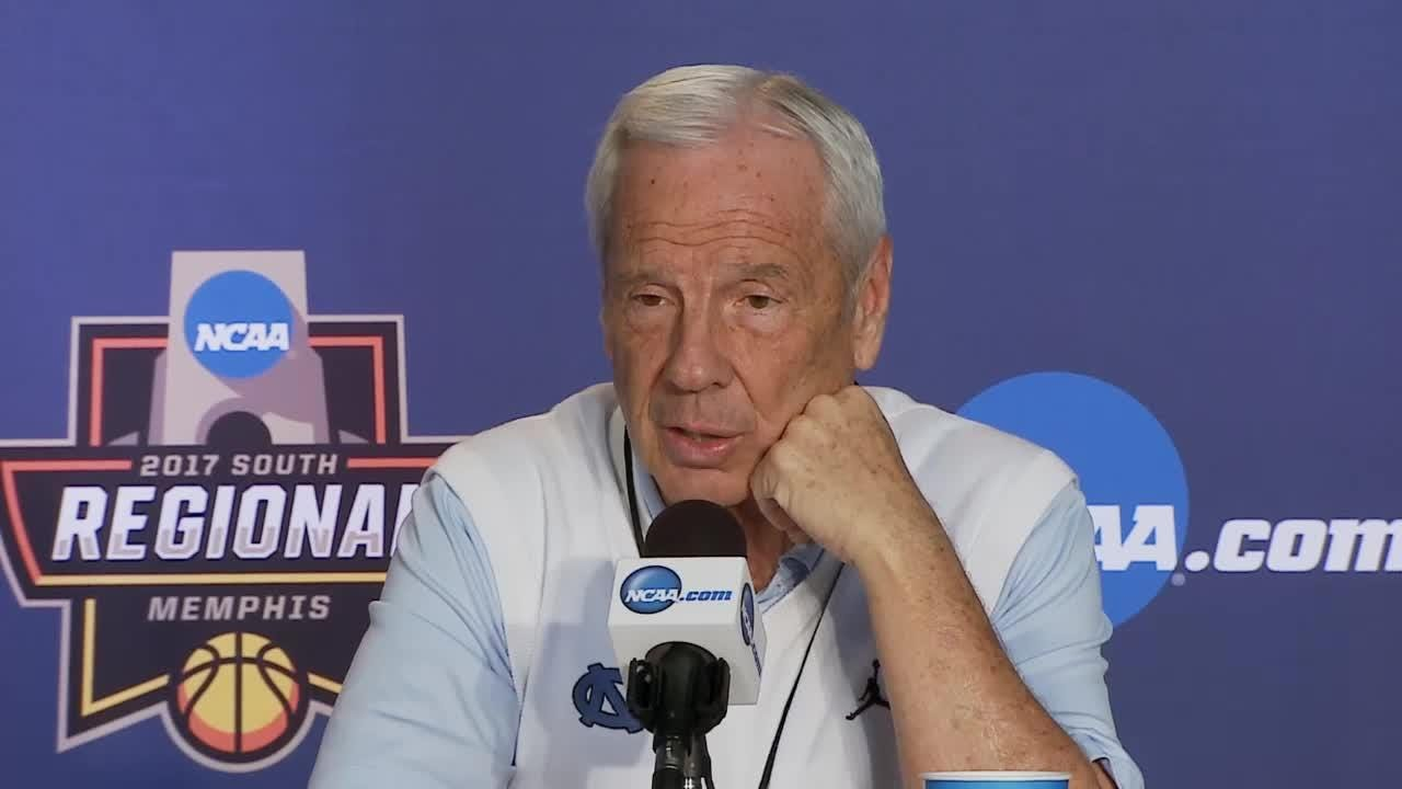 UNC'S Roy Williams talks about playing Butler