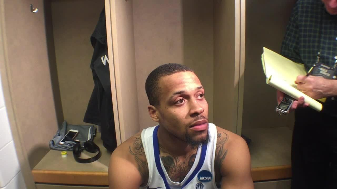 UK G Isaiah Briscoe after NCAA Tournament win over NKU
