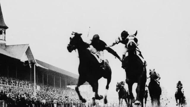 'Fighting Finish' | Kentucky Derby 1933