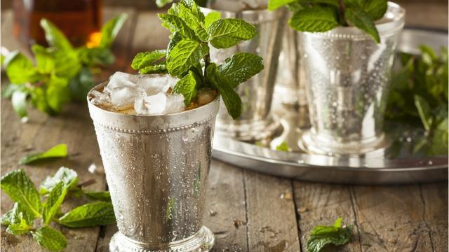 The Kentucky Derby's official drink was actually first created in the 18th century.