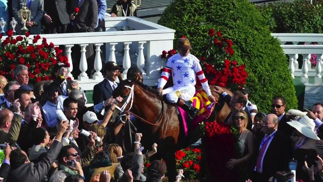 With the help of Churchill Downs publicity director Kevin Kerstein, Courier Journal Buzz Columnist Kirby Adams learns more about the Kentucky Derby Winner's Circle.