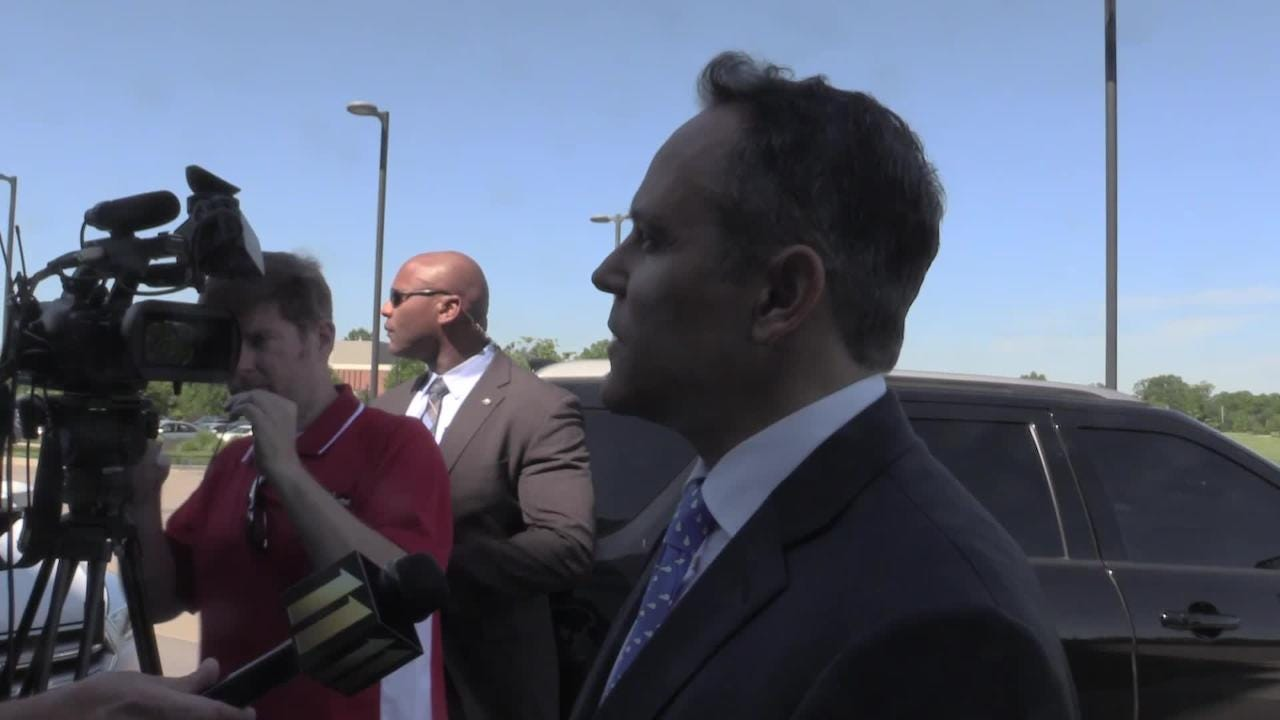 Gov. Matt Bevin addresses Monday's Waterfront shooting