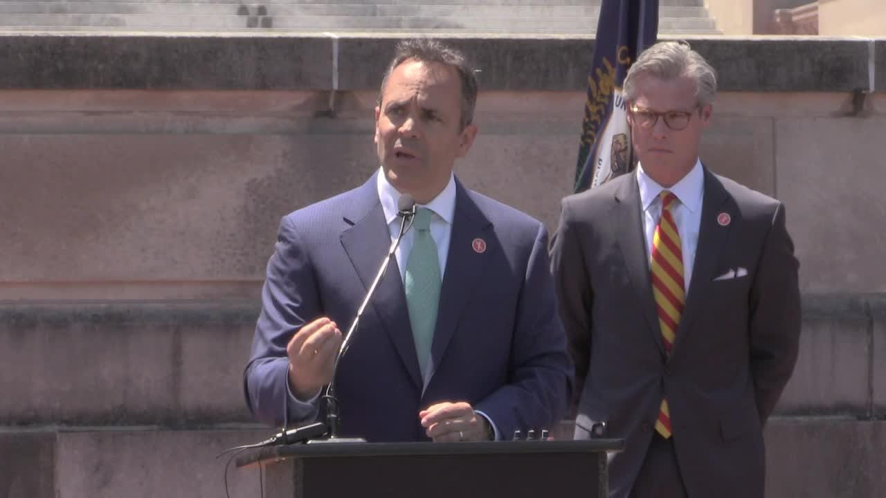 Gov. Matt Bevin says his plan to stem gun violence 'may be mocked'