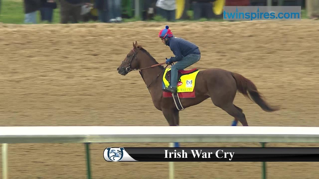 Kentucky Derby 2017 horses at Churchill | Irish War Cry