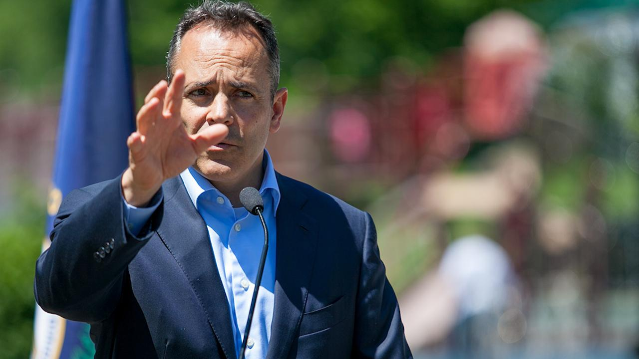 Gov. Matt Bevin explains plan to curb violence in west Louisville