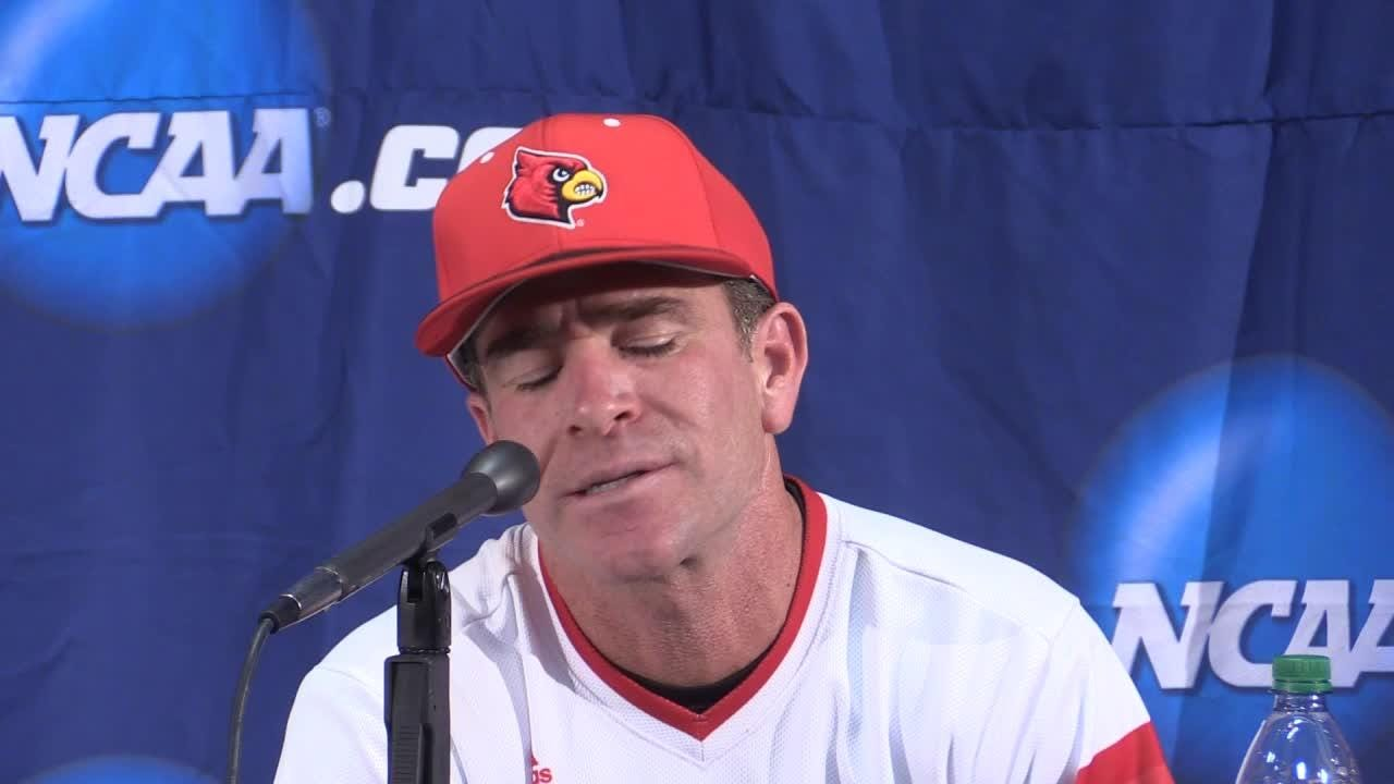 Louisville's Dan McDonnell talks about win over UK