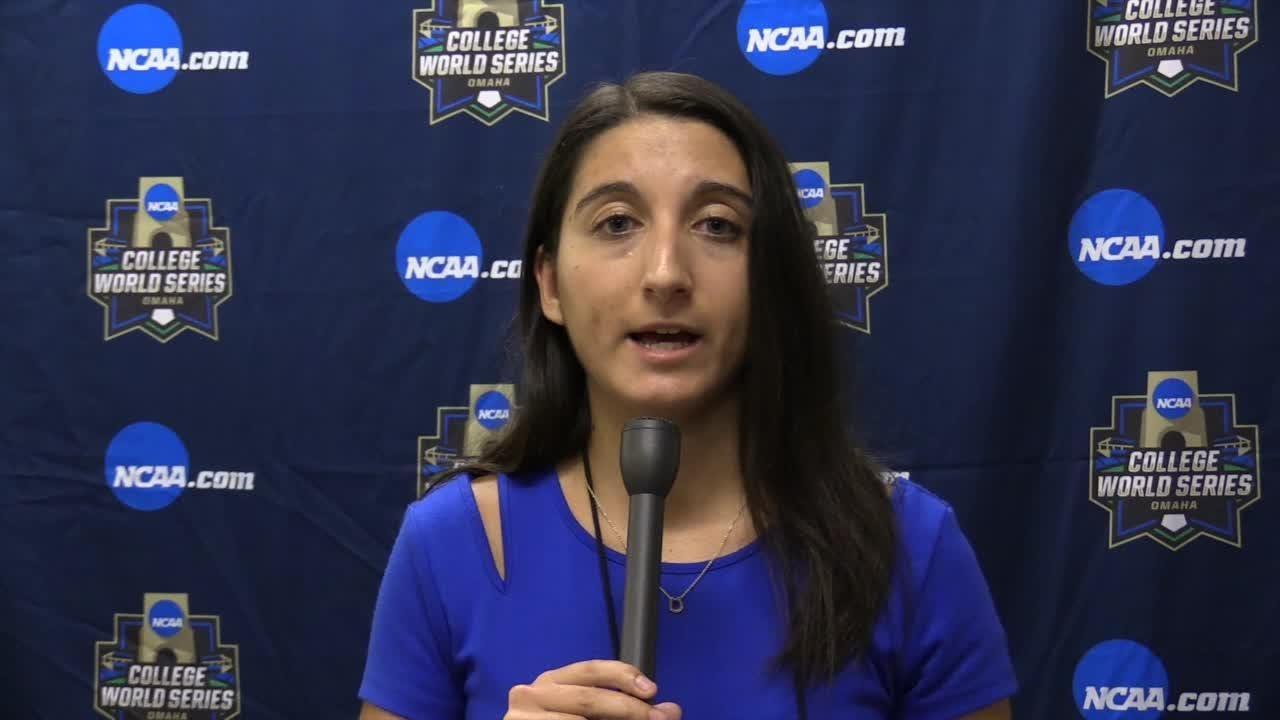 CJ's Danielle Lerner wraps up U of L's season ending loss to TCU in College World Series