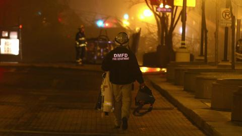 Des Moines firefighters relive Younkers fire