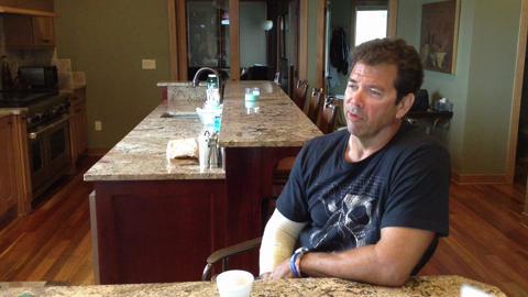 Craig Ellingson speaks about son's drowning death