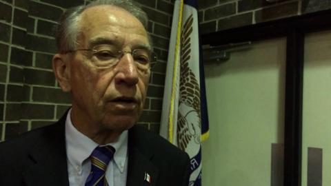 Sen. Grassley scolds Missouri Highway Patrol
