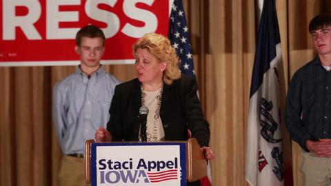 Staci Appel: I will be Young's constituent, wish him well