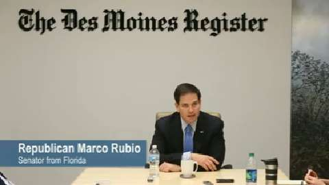 Marco Rubio: I'm not just a freshman senator