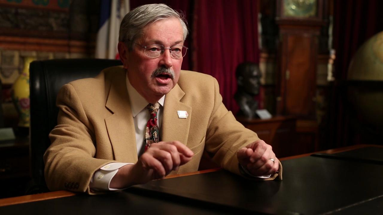 Branstad reaffirms beliefs on abortion, traditional marriage