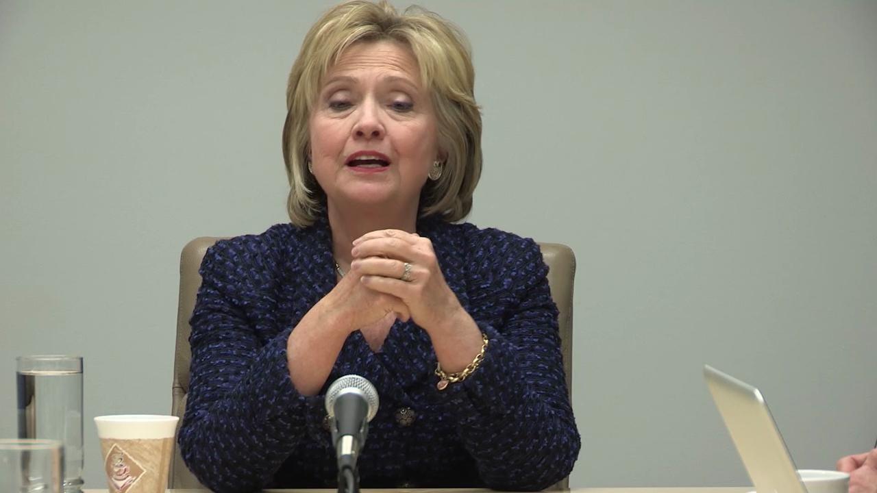 Hillary Clinton on Obama gun control plan