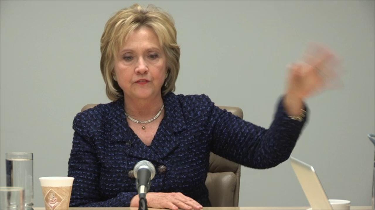 Full video: Hillary Clinton with the Register editorial board