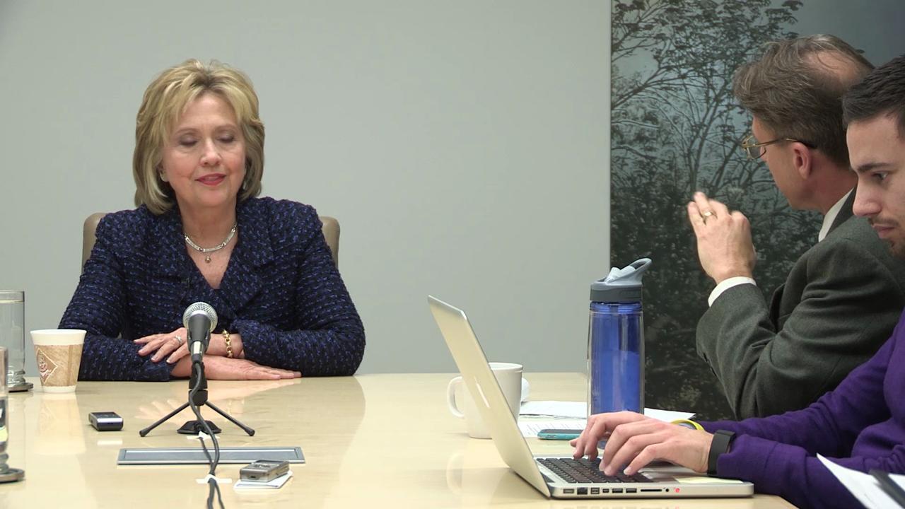 Clinton denies FBI investigation