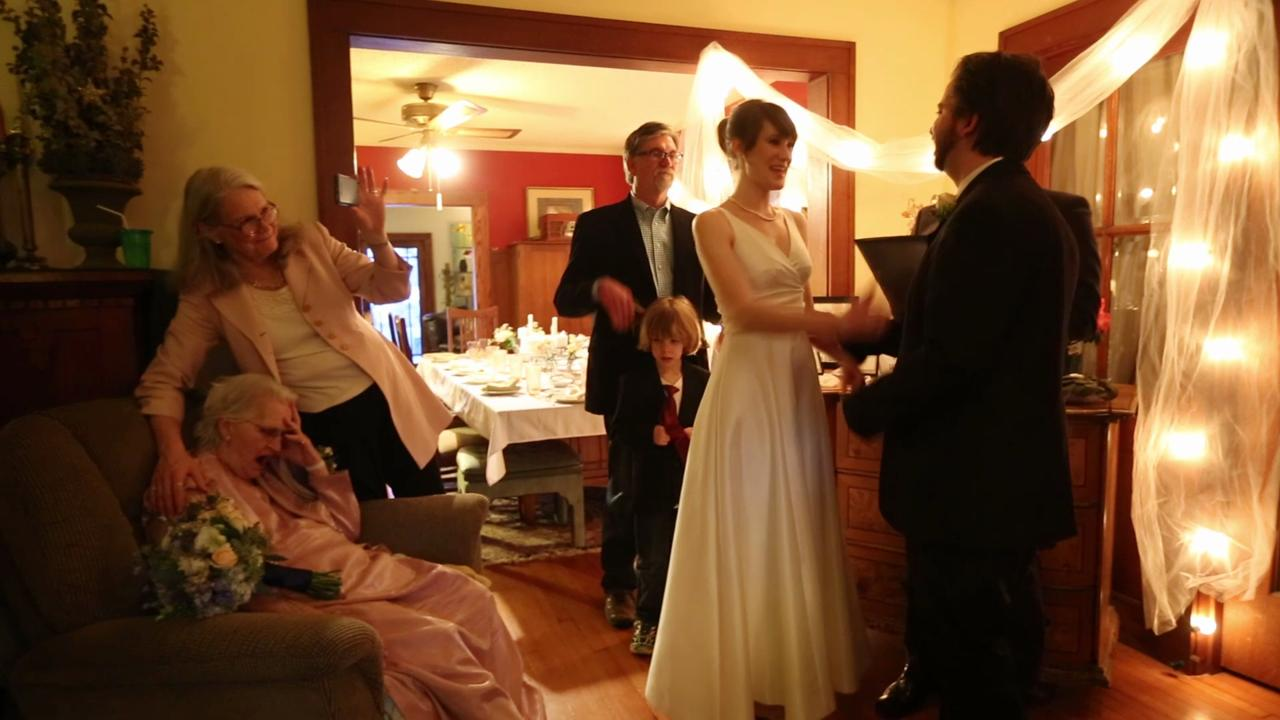 58eb8c469 The surprise wedding of Megan Pederson and John Teter