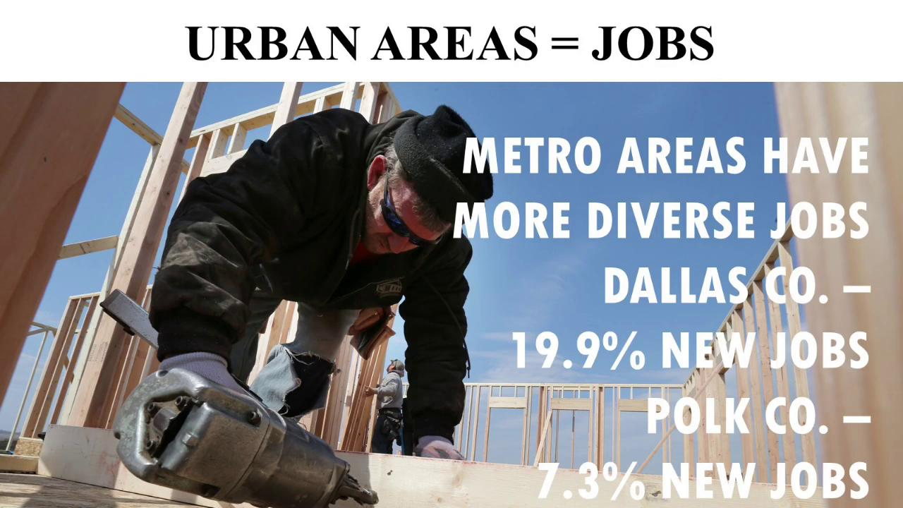By the numbers: Iowa's urban populations surge