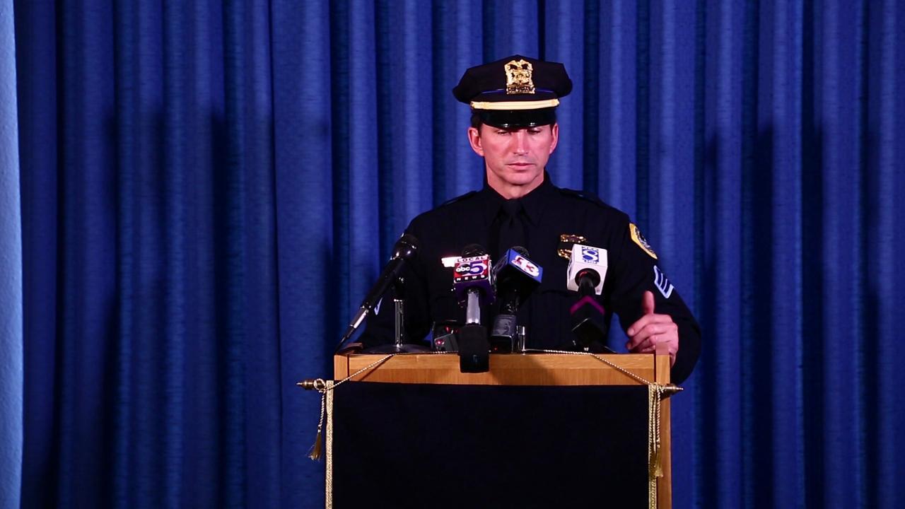 Sgt. Paul Parizek on officers killed in I-80 wreck