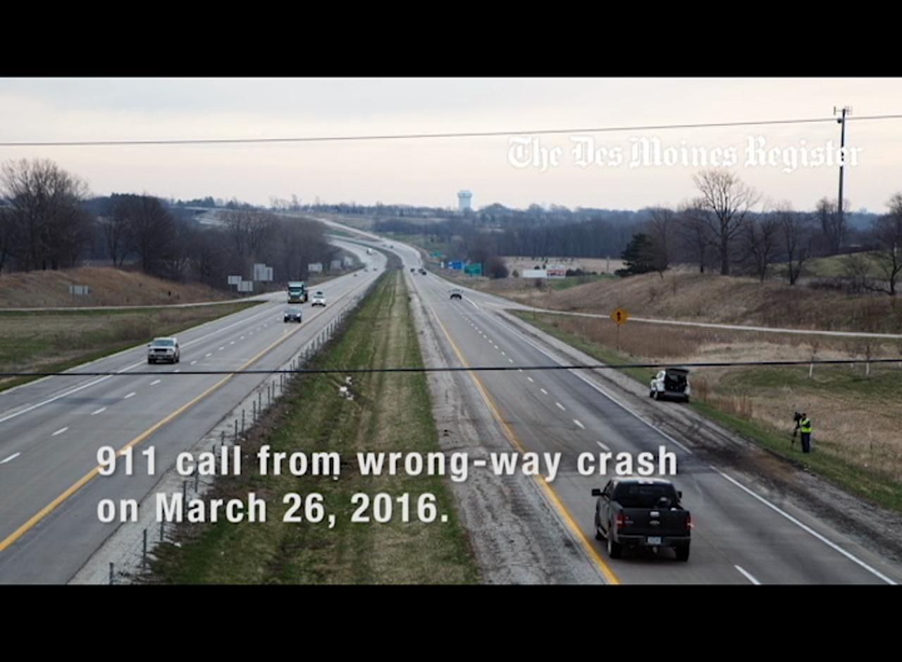AUDIO: 911 call details fatal wrong-way crash