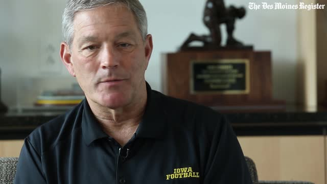 Kirk Ferentz talks about his team's history in bowl games