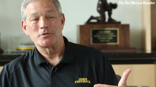 Kirk Ferentz talks about having his 3 sons in the Iowa program
