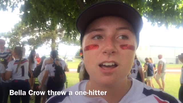Urbandale beat Indianola 2-0 in a Class 5A state softball quarterfinal. It's the first time since 1996 that the J-Hawks moved on to the semifinals.