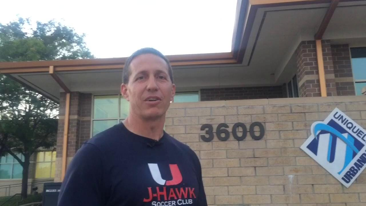 Matt Carver, president of the J-Hawks Soccer Club Association, explains why discussing the parking lot pavements and field allocations were important at the city council level.