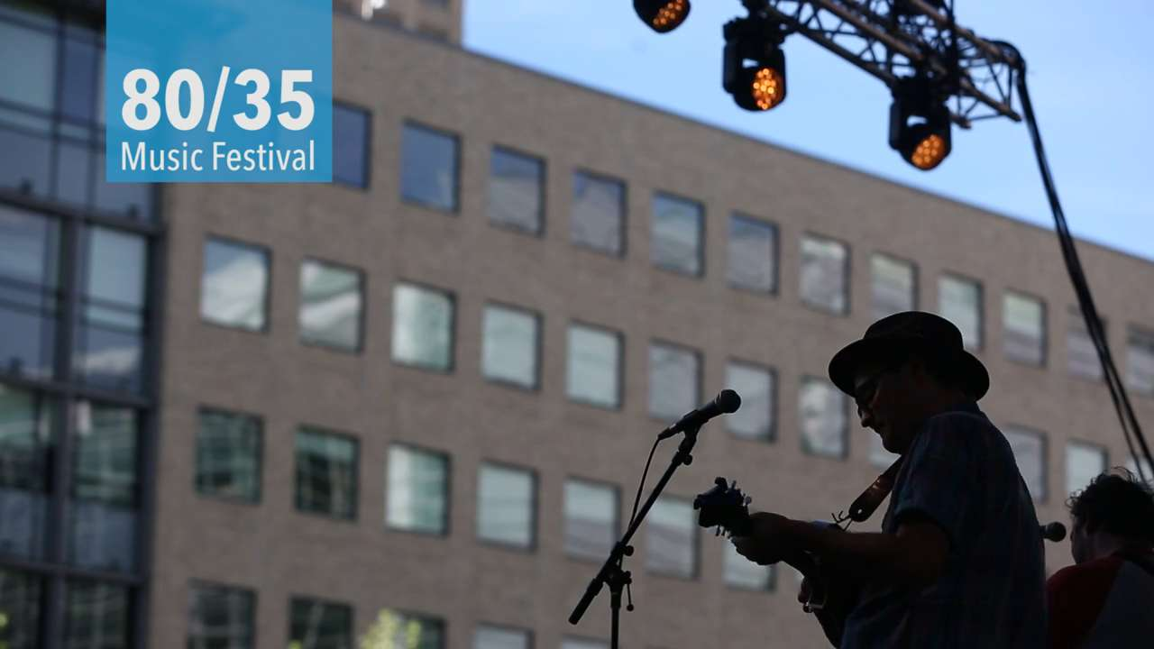 Take a look at some of the highlights from the first day of the 80/35 music festival in downtown Des Moines.