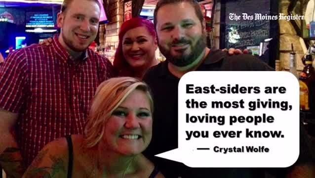 """From 2016: Ahead of the annual East Side Night at the Iowa State Fair, we asked residents of Des Moines' east side what it means to be an """"east-sider."""""""