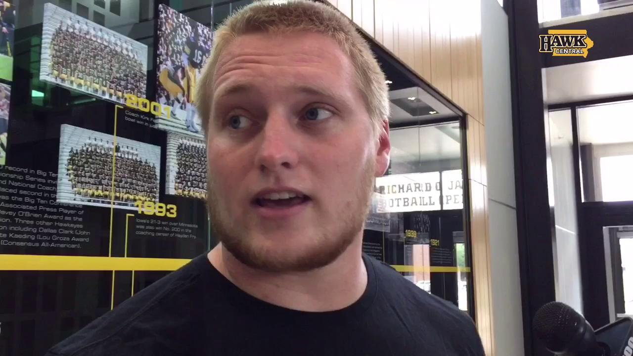 Cole Croston on Iowa's freshmen, season goals