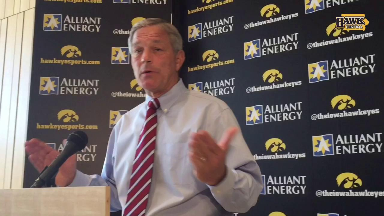 Kirk Ferentz on coping with injuries