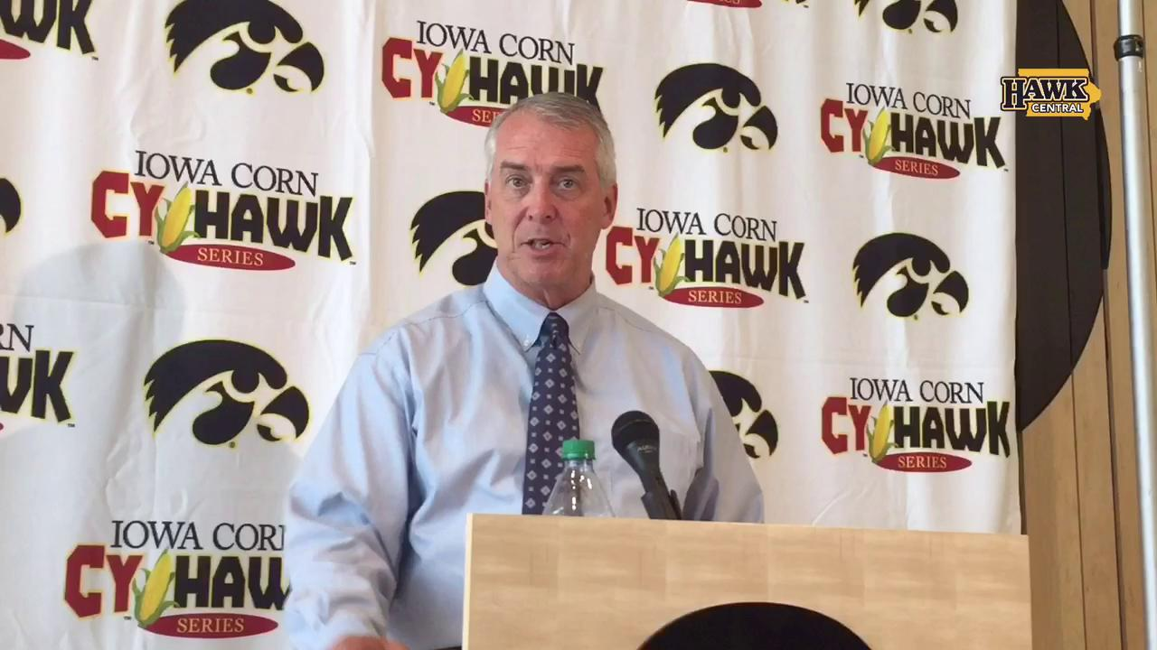 Gary Barta answers questions on Kirk Ferentz's new buyout terms