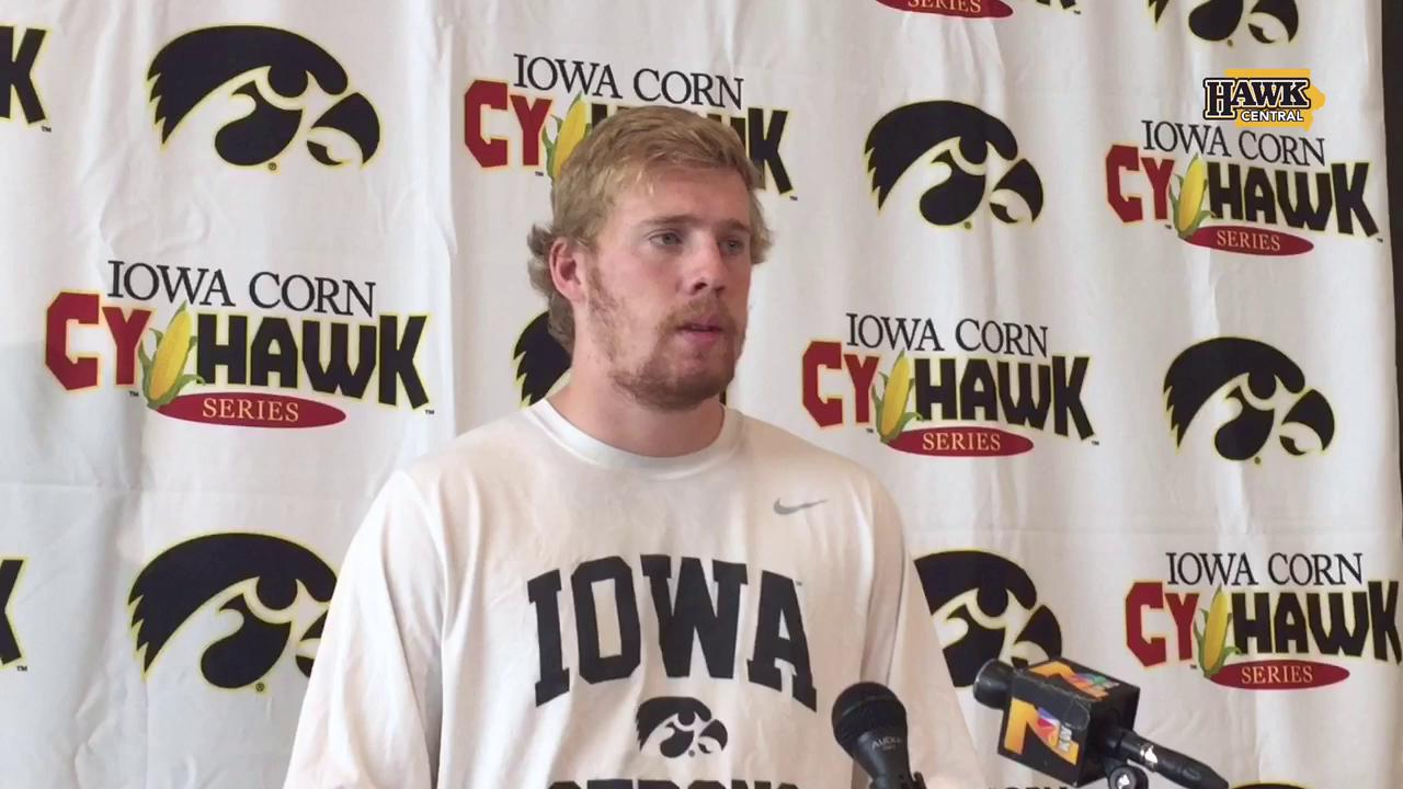 C.J. Beathard praises Ferentz extension, scouts Iowa State