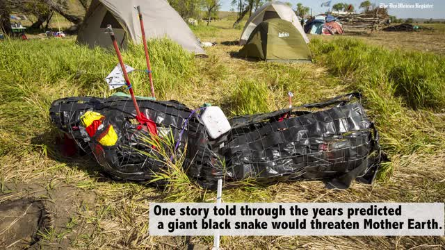 Go inside the Dakota Access protest camp in North Dakota